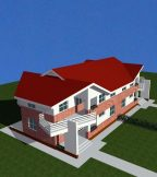 Coupled houses (L & D)