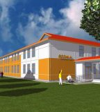 School in Hoceni - Consolidation and Redesigning
