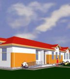 School in Bacani - Consolidation and Redesigning