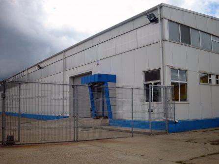 Insulating panels Production Hall