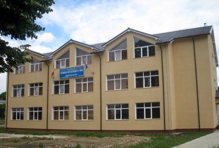 School in Muntenii de Jos, Vaslui county